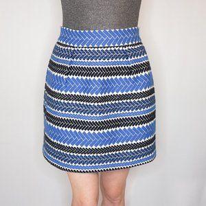 ANTHRO NOMAD Morgan Carper Embroidered Mini Skirt